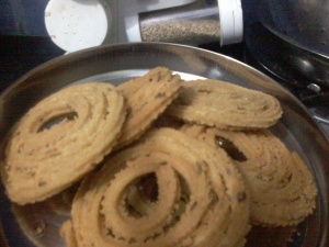 whole wheat murukku